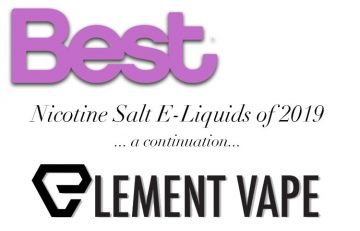 BEST NICOTINE SALT E-LIQUIDS FOR 2019