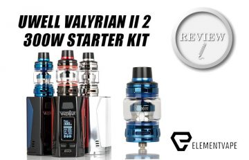 Feature Image UWELL VALYRIAN II 2 300W STARTER KIT