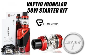 VAPTIO IRONCLAD 50W STARTER KIT