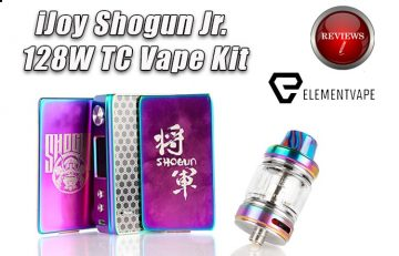 A Full Review of the iJoy Shogun Jr - 128W TC Mod Kit