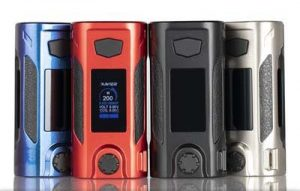 RED OUMIER RUDDER 200W TC BOX MOD