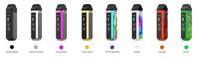 8 COLORS - SMOK RPM40 Brings Box Mod Features to Pod Vape System