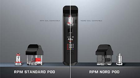 RPM AND NORD - SMOK RPM40 Brings Box Mod Features to Pod Vape System