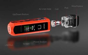 POD - SMOK RPM40 Brings Box Mod Features to Pod Vape System