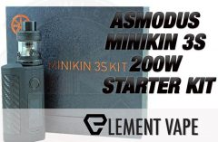 ASMODUS MINIKIN 3S 200W STARTER KIT FEATURE IMAGE