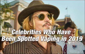 Celebrities Who Have Been Spotted Vaping