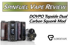 DOVPO Topside Dual Carbon Squonk Mod Review