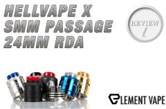 Hellvape x SMM Passage RDA Spinfuel VAPE Review