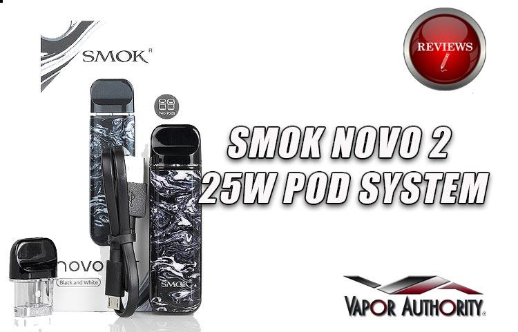 NOVO 2 Pod Vape Review – SMOK'S Best Pod Mod? | Spinfuel VAPE