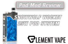 VGOD Stig Disposable Pod Mod Review | Spinfuel VAPE