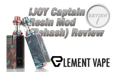 The iJOY Captain Resin Mod (Rehash) Review