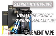 UWELL VALYRIAN II 2 300W STARTER KIT REVIEW