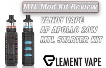 VANDY VAPE AP APOLLO 20W MTL STARTER KIT