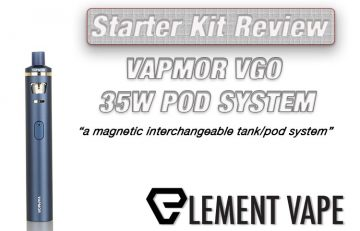 Vapmor VGO 35W 2-in-1 Pod System Review