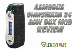 asMODus Ohmsmium 24 80W Box Mod Review - Feature Image