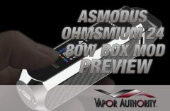 asMODus Ohmsmium 24 80W Box Mod Review SPINFUEL VAPE
