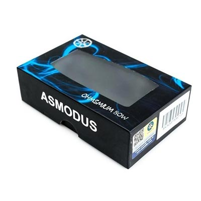 asMODus Ohmsmium 24 80W Box Mod Review - Packaging