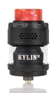 black and red - Vandy Vape Kylin M RTA Review