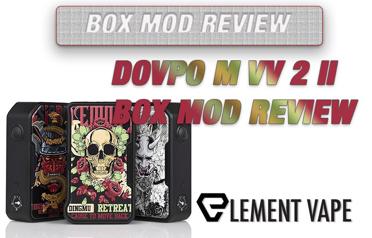 DOVPO M VV 2 II Review Spinfuel Vape