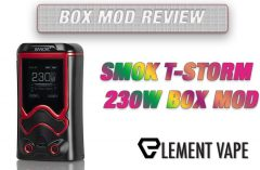 SMOK T-STORM 230W BOX MOD REVIEW Feature Image by Spinfuel VAPE