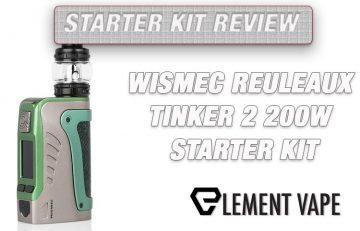 WISMEC Reuleaux Tinker 2 Mod Kit Review