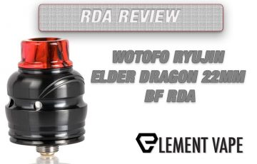 WOTOFO Elder Dragon 22mm RDA REVIEW