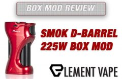 SMOK D-BARREL 225W Box Mod Review