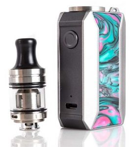 RESIN FINISH - Voopoo Drag Baby Trio 25 Mod Kit Review