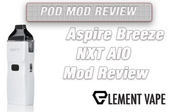 Aspire Breeze NXT AIO Mod Review