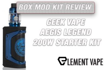 GeekVape Aegis Legend Limited Edition Mod Kit Review