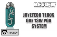Joyetech Teros One Pod Mod System Review