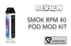 FESATURE REVIEW - SMOK RPM40 40W Pod Mod Kit