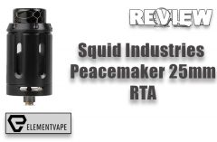 Squid Industries Peacemaker 25mm RTA Review