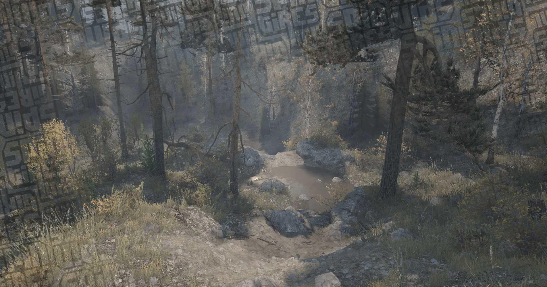 Trail Map Creek Rausch