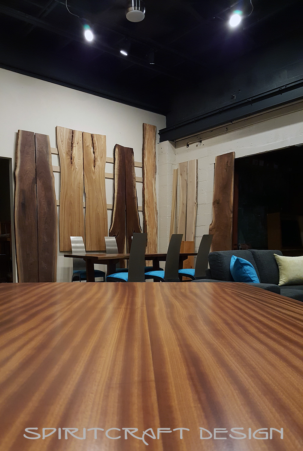 Live Edge And Slab Table Showroom In The Chicago Area