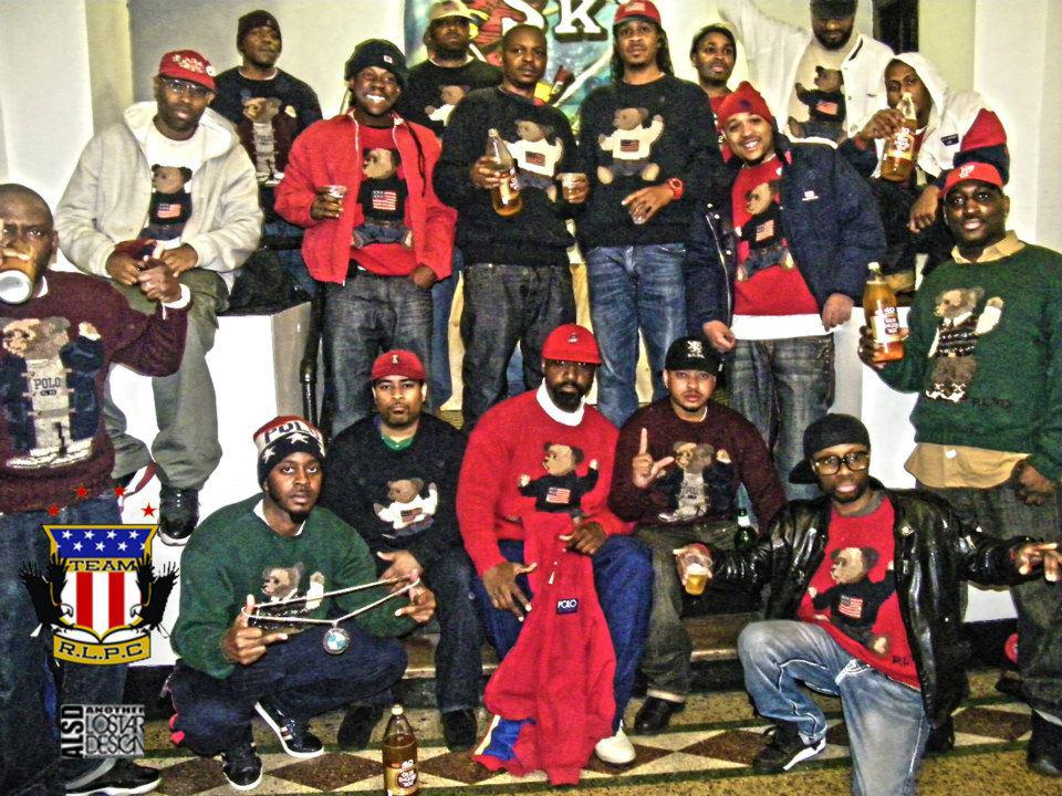 Men Wearing Hip Hop Jewelry