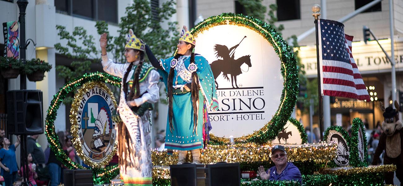 Parade Spokane Lilac Festival