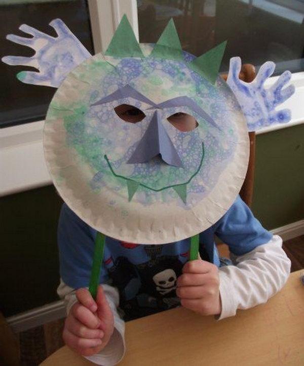 20 diy halloween mask crafts kids, dinosaur coloring pages