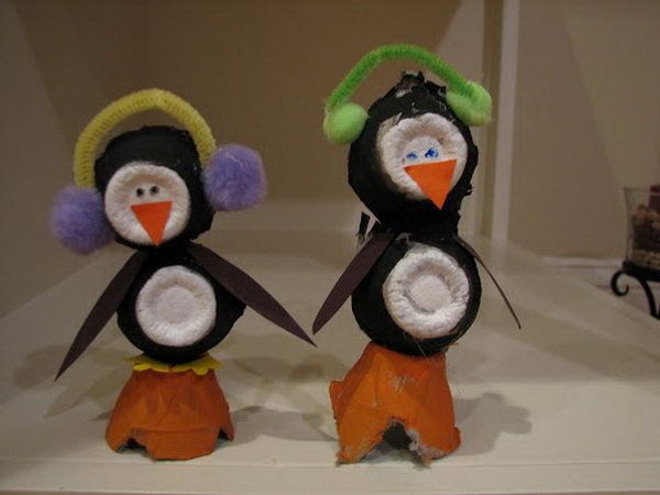 Arts Crafts Penguin And