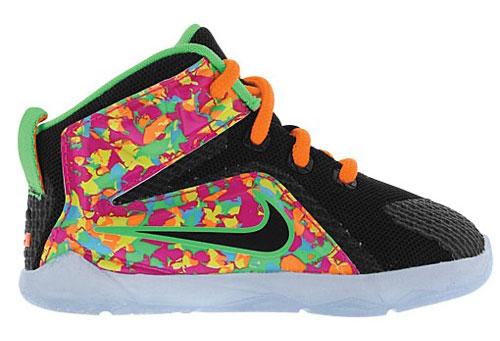 Nike LeBron 12 Cereal Fruity Pebble Collection | SportFits.com