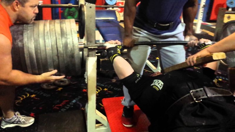 The Bench Press Record Is A Number You Won T Believe