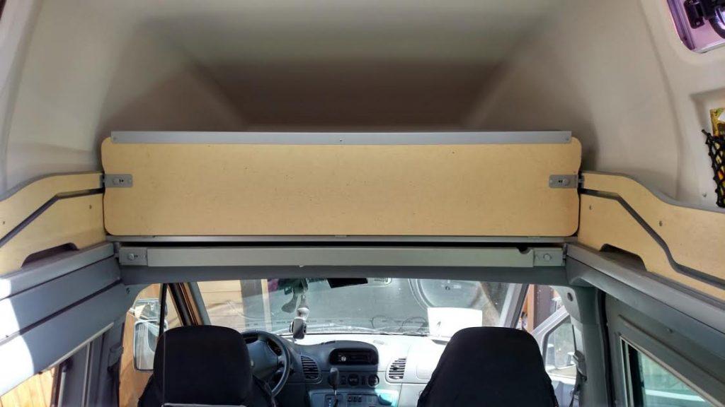 Roof Bed Memory Foam Installation Sprinter Revolution