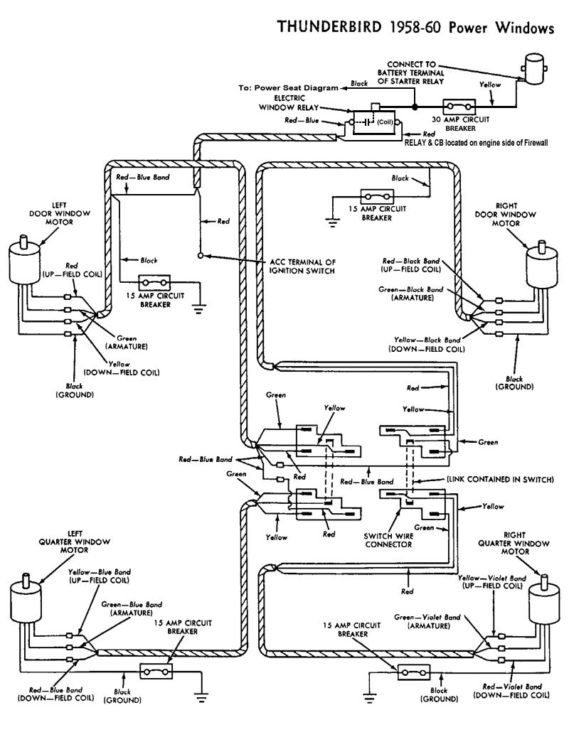 The posts are a bit rusty but you get the idea here's the schematic which includes this relay