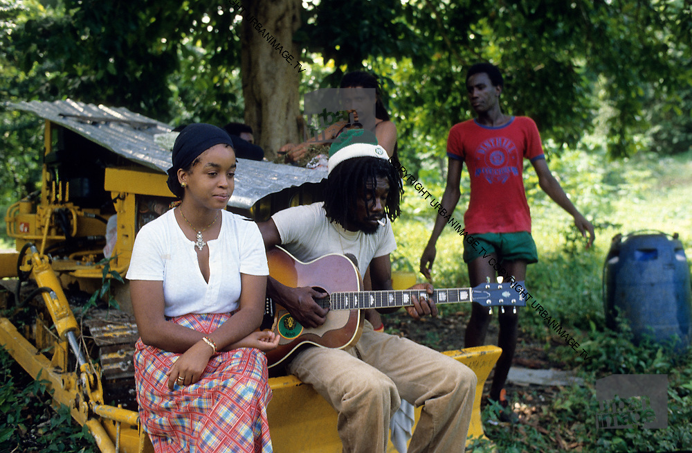 Peter Tosh And Grace Collins Jamaica 1978 Urbanimage Tv