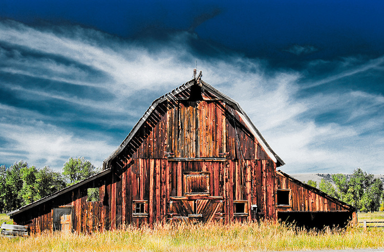 Old Country Barns Backgrounds