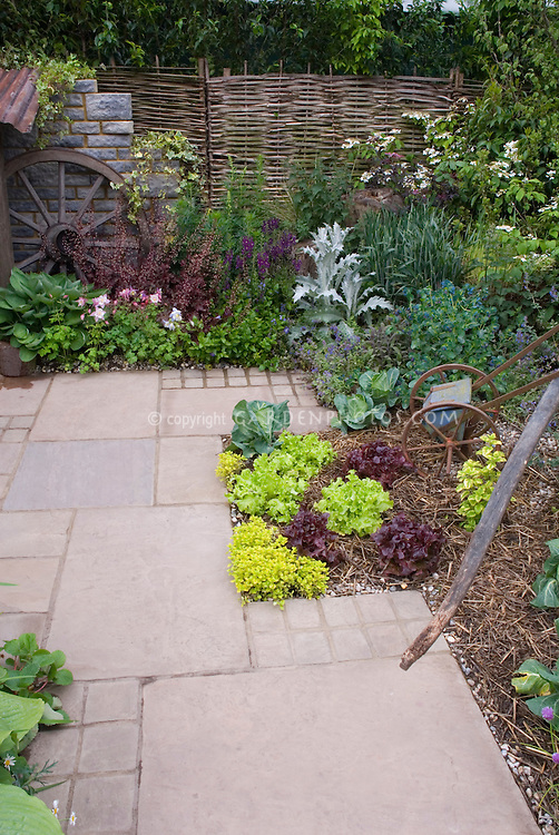 Vegetable Garden Deck