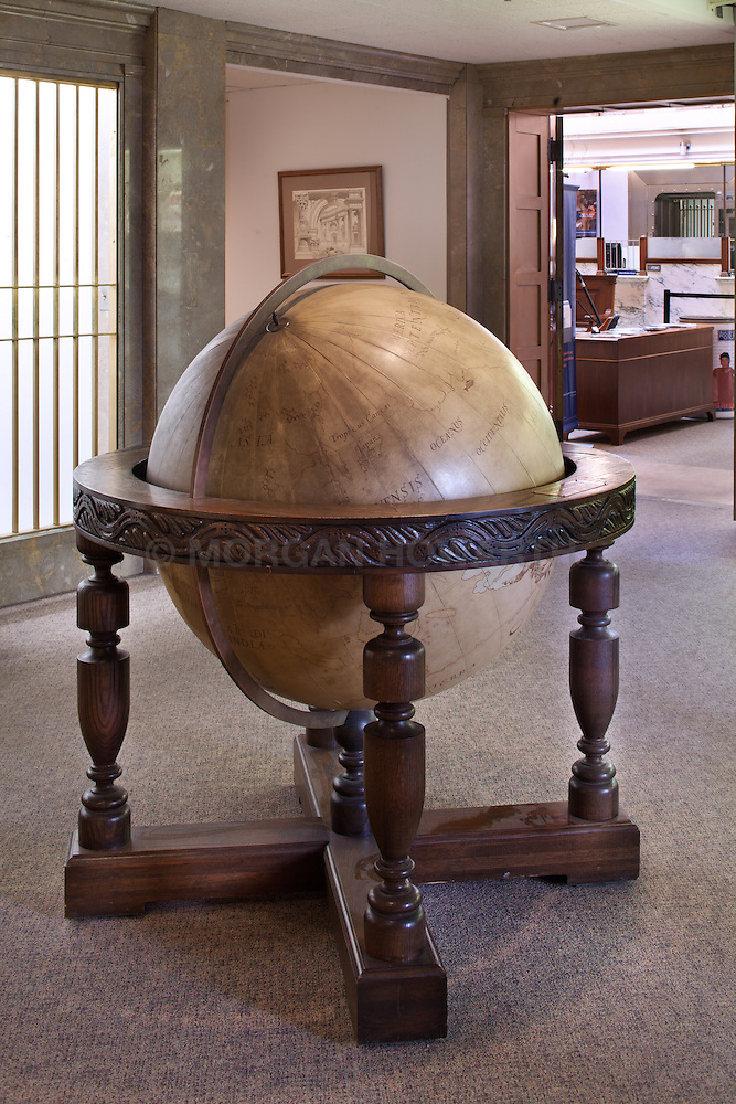 Antique Large Floor Globe Morgan Howarth Photography