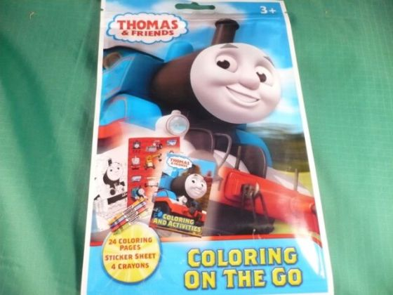 Thomas and Friends Coloring Pouch Set Each   eBay Thomas the Tank Engine   Friends  On The Go  Coloring Pouch
