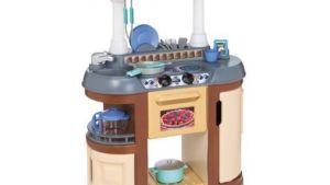Little Tikes Magicook Kitchen Set Brown 25 Pcs