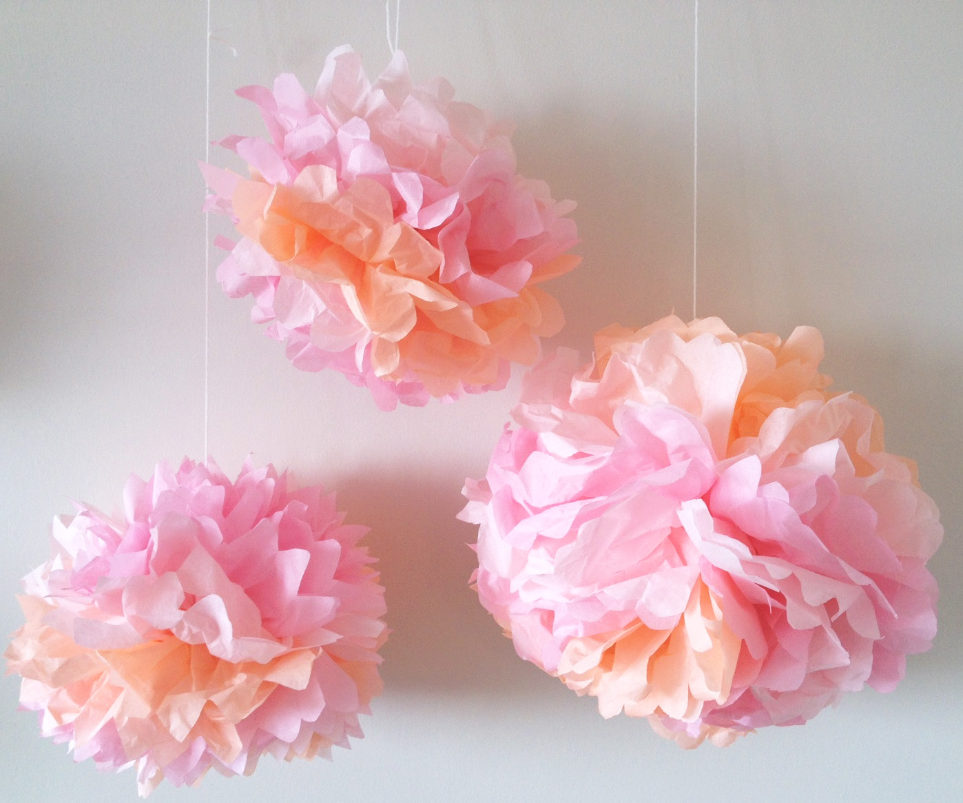 How to Make Tissue Paper Flowers   Craft Tutorial   S S Blog Tissue Paper Flower Craft